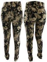 Pantalones Floreado x3 unds. Tallas: 36 al 44