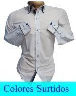 Camisa de Hombre Slim Fit x 3 unds. Tallas: M a 5XL