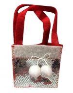 Bolsa Navideña x12 Unds. Medida: 12 x 12 cm aprox.