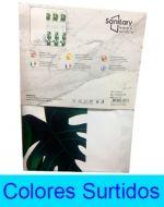 Cortina Para Baño de Plástico x 3 Unds. Medidas: 180 x 180  cm aprox.
