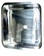 Bandeja de Metal  36 x 26 x 5 cm aprox x 6 unid