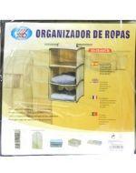 Organizador de Lona 30 x 30 x 60 cm x 6 unid.