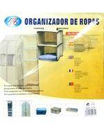 Organizador de Lona 30 x 30 x 50 cm x 6 unid.