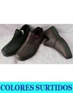 Zapato Eco Cuero de Hombre x 24 Pares. Tallas: 40 - 45