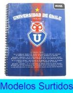 Cuaderno Ross  x 100 hojas 7mm. x10 unds