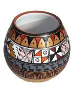 Mate de Ceramica 6x6x10cm  x4 Und