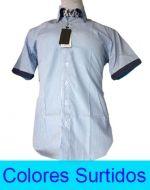 Camisa Manga Corta Hombre x4 Unds. Tallas: M al 4XL