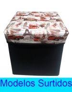 Caja Multiuso de Lona x4 unds. Medidas: 32x32x32 cm