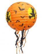 Lampara de Papel Halloween x12 Unds. Medidas: 28 cm aprox