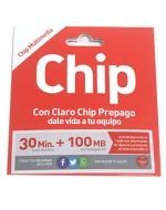 Chip Claro 30 mas 100 MG x12 unds.