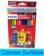 6 Set de Colores Jumbo