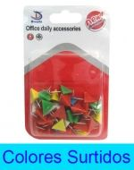 12 Set de Accesorios Para Oficina (mini alfiler)