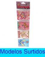 6 Set de Agenda de Nota Rayado  Medida: 10 x 7 cm aprox