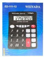 Calculadora Electrónica ED-111-12 x 4 Unds. Medida : 21 x 16 cm aprox.