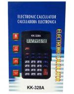 Calculadora Electrónica con Tapa Kk-328A x 6 Unds. Medida : 10 x 6 cm aprox.