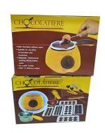 Maquina de Chocolate Con Accesorios x 4 Und. Medida: 10 x 10 x 8 cm