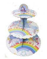 Porta Cup Cake x 6 Unds. Medida: 34 cm Aprox.