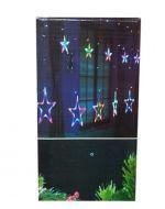 Luz Led Colgante Estrella x 4 Unds. Medida : 2 M aprox