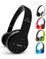 Audífonos  Bluetooth P47 x 3 Unds.