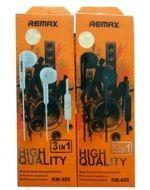 Audífonos Remax 609 x 6 Unds.