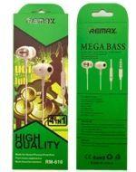 Audífonos Remax 610 x 6 Unds.