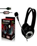 Ovleng Audifonos Manos Libres Q2 USB GAMING x 3 Unds.