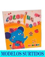 Libro para Colorear x 12 Unds.