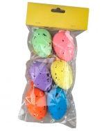 12 Set Huevos de Pascua. Medidas  : 4 cm aprox.
