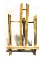 Atril de Madera x 6 Unds.Medida : 45 x 21  cm Aprox