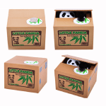 Alcancia Panda x4 Unds. Medida:15x12.5x12.5 cm Aprox.