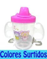Vaso para bebe 180 ml x 12 unid