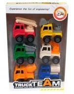 4 Set de Carro de Construcción