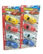 6 Set de Juguetes de Carros