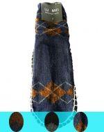 Pantufla de Lana Antideslizante x 12 pares Tallas: 39 a 46