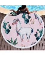 Toalla Unicornio x 3 Unds. Medidas : 160 x 160 cm Aprox.