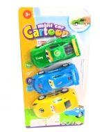 4 Set de Autos de Juguete