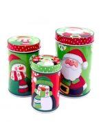 4 Set Embaces  Metálicos de Navidad