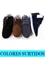 Zapato Eco Cuero de Hombre x 30 Pares. Tallas: 40 - 44