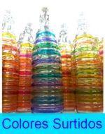 Botella de Vidrio 1 Ltro. x 6 Unds.