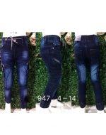Jeans de Niño x 6 unds. Tallas : 4 - 14