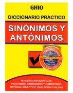 Diccionario Sinónimos y Antónimos x 4 Unds.