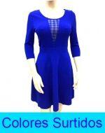 Vestido de Dama x6 unds. Tallas: M-L-XL