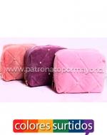 Cosmetiquero  Plush  de Dama x 12  Unidades