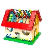 Casa de Bloque x  4 Und. Medidas: 21 x 20 x 19 cm.