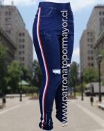 Calza Jeans Elásticado x 3 Unidades. Tallas: S/42 M/44 L/46