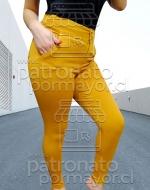 Calza Elasticada de Dama x 3 unidades: Talla. S - M  - L