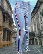 Calza Jeans Elásticado x 3 Unidades: Tallas: S/42 M/44 L/46