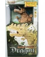Dinosaurio de Juguete con Luz  y Sonido x 4 Unds.