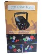Luz Multicolor con Diseño led x3 Unds. Medida: 10 x 8 x 7 cm