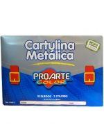 5 Packs Cartulina Metálica Pro Arte